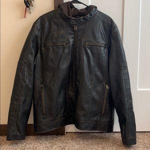 Levi leather jacket